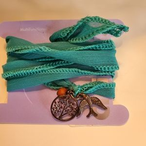 Wrap Sparrow Tree of Life Bracelette. NWT